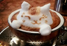 9张创意的3D咖啡泡沫艺术造型