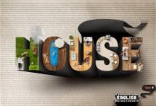 32个创意的字体广告设计案例