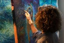 11张来自Iris Scott的手指绘画作品