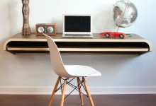 21个创意的电脑办公桌设计