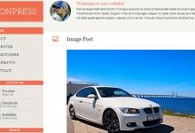 35个简约风格的WordPress主题下载