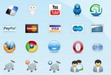 45组高品质的电子商务Icon图标集下载