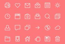 39组免费的Icons图标集下载