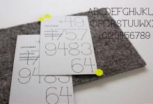 70个免费的设计师专用字体下载