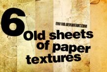 16个免费的废旧纸张背景纹理下载
