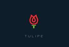 17个以郁金香为主题的创意Logo设计