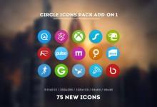 46组扁平化风格的Icon图标下载