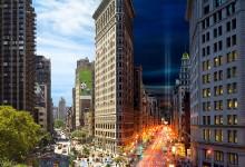 9张来自纽约的24小时合成照片