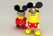 50张搞笑创意的小黄人图片