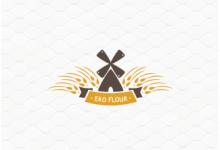 21个以小麦为主题的创意Logo设计