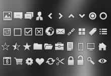15组有用的Photoshop自定义形状集
