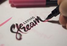 21个以艺术字为主题的创意Logo设计