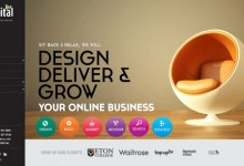 25个漂亮创意的网站设计案例作品