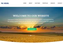 100个2014年最新的免费网站模板下载