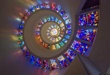 24张美轮美奂玻璃窗摄影照片