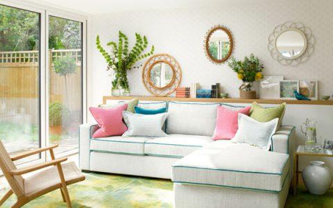 55个舒适的客厅装饰设计照片