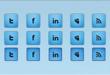 40组免费的网页按钮素材资源下载
