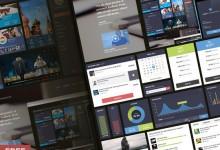 30个免费有用的UI设计套件下载