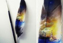 10个微型物体的绘画作品欣赏