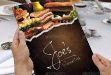 41个免费的餐饮菜单设计模板下载
