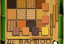 30张以竹子为主题的纹理背景素材下载