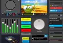 40个免费的网页设计GUI素材资源下载