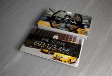 16个极具创意的出租车司机名片设计