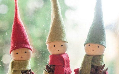 50个创意圣诞节装饰物DIY想法