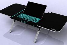 15个给你灵感的创意笔记本电脑桌设计