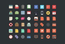 40组创意的图标设计素材资源下载