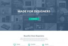 10个最新的Wordpress主题PSD模板