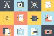 16组设计师必看的最新图标集素材