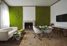 苔藓墙: 室内设计的趋势,把你的家变成一片森林