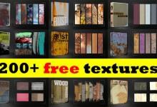 14组高品质的纹理背景素材免费下载