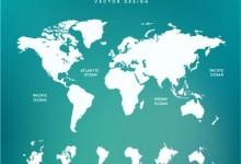 25款实用的免费世界地图素材下载