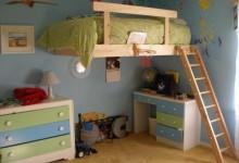 16个可行的DIY装置阁楼床的创意
