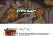 12个免费的wordpress美食主题网站设计