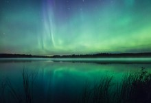 16张漂亮美丽的芬兰极光摄影