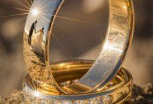 戒指上独特的婚礼摄影