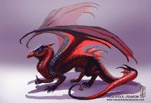 对龙的动漫角色重新设计