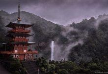 美丽如画的日本雨季摄影照片