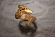 设计师用银和青铜制作的动物首饰欣赏