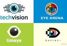 40个创意的眼睛标志Logo设计