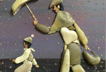 25张沙滩石头造型艺术作品欣赏