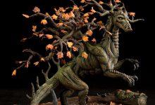 12张超级可爱的树龙(夏龙)的摄影照片