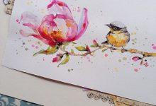 15张来自Sillier Than Sally的自然水彩画欣赏