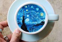25个创意可爱的咖啡拉花设计作品欣赏