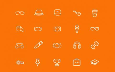 11组免费的高品质线条Icon图标素材下载