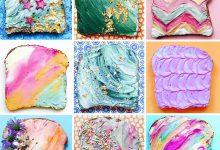 25个创意的切片面包涂鸦作品欣赏